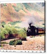 Durango-silverton Train Acrylic Print