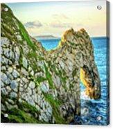 Durdle Dore - Ocean Rock Formation Acrylic Print