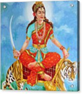 Durga Devi  Acrylic Print