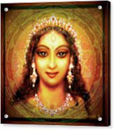 Durga In The Sri Yantra Acrylic Print