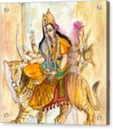 Durga Acrylic Print