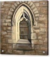 Durham Window Acrylic Print