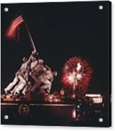 During Independence Day Celebrations Acrylic Print
