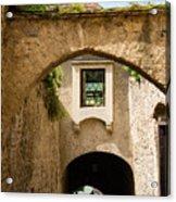 Durnstein Archways Acrylic Print