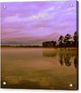 Dusk At Lake Murray Sc Acrylic Print