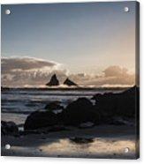 Dusk At Lone Ranch Beach Acrylic Print