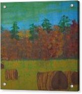 Dusk In The County Acrylic Print