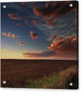 Dusk In The Heartland Acrylic Print