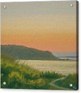 Dusk Lamberts Cove Acrylic Print