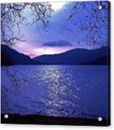 Dusk On Loch Lomond Acrylic Print