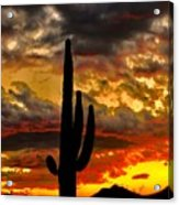 Dusk To Dawn Acrylic Print