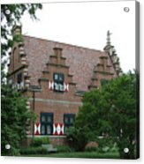 Dutch Building - Henlopen Acrylic Print