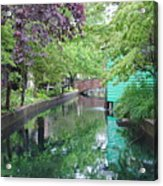 Dutch Canal Acrylic Print