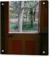 Dutch Door Acrylic Print