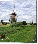 Dutch Icon Acrylic Print