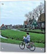 Dutch Village Acrylic Print