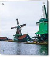 Dutch Windmills 1 Acrylic Print