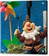Dwarf On Burano Acrylic Print