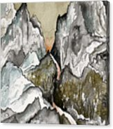 Dwimorberg     The Haunted Mountain  Acrylic Print