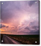 Dying Supercell Acrylic Print