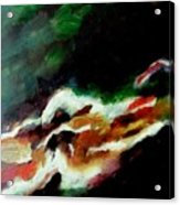 Dying Swan-abstract Acrylic Print