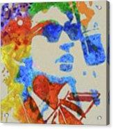 Dylan Watercolor Acrylic Print