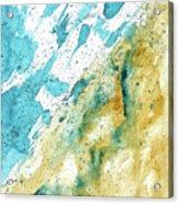 Dynamics Of Water Acrylic Print