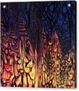 Dystopian Fiction Acrylic Print