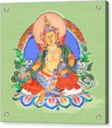 Dzambala The Buddha Of Wealth Acrylic Print