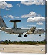 E-3 Sentry A W A C S Acrylic Print