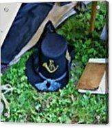 E Company Black Hat Acrylic Print