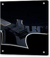 E-guitar Acrylic Print by Melanie Viola