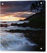E Hamau O Makani Mai Auanei Aloha Paako Acrylic Print