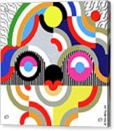 E Motion - Princess Face 1 Acrylic Print