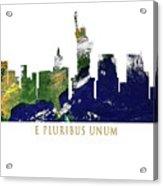 E Pluribus Unum Acrylic Print