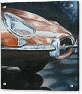 E-type Jaguar Acrylic Print