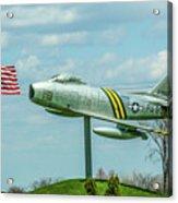 Eaa F-86 Sabre Acrylic Print