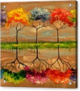 Each Tree By Its Smell Acrylic Print