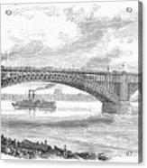 Eads Bridge, St Louis Acrylic Print