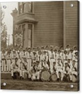 Eagle Band's Drum Corps. Native Sons Of The Golden West  Circa 1908 Acrylic Print