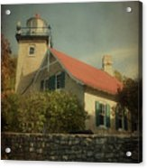Eagle Bluff Lighthouse Acrylic Print