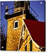 Eagle Bluff Lighthouse Of Door County Acrylic Print