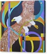 Eagle Dance Acrylic Print