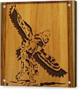Eagle Dancer Acrylic Print