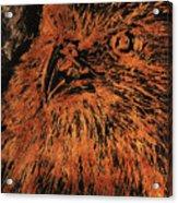 Eagle Metallic Copper Acrylic Print