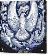 Eagle Of Clouds -- Actual Sky I Saw Acrylic Print