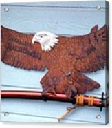 Eagle Sold   Acrylic Print by Steve Mudge