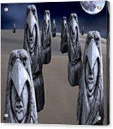 Eagleman Poles Acrylic Print