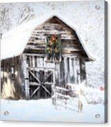 Early December Snowfall Morning Acrylic Print