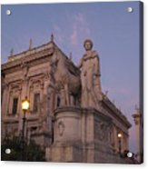 Early Evening Rome Number Two Acrylic Print